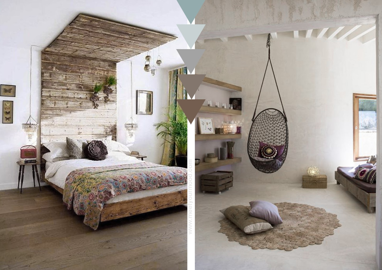 Colori Interni Grigio : Colori per pareti soggiorno grigio arredare casa con nicchie