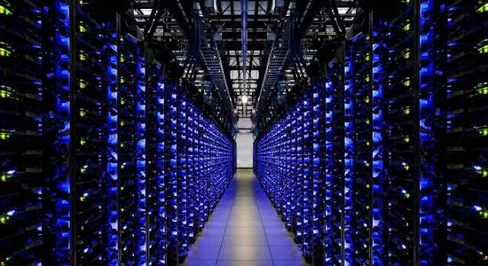 kapasitas penyimpanan data web hosting