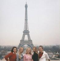 Paris- Le Tour Eiffel et Notre Dame