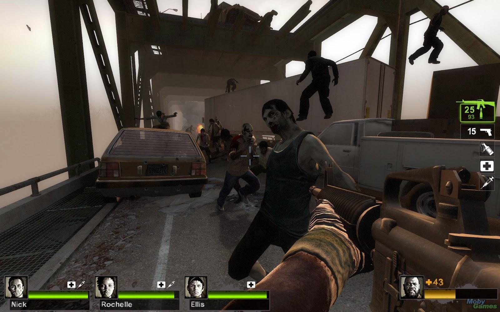 Left 4 Dead 2 FN FAL (замещает АК-47) - Файлы - патч