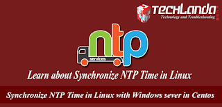 Synchronize NTP Time in Linux