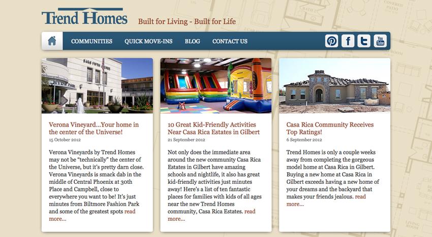 Trend Homes – Trend Homes Floor Plans Az