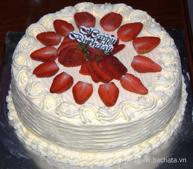 Bánh sinh nhật Chantilly