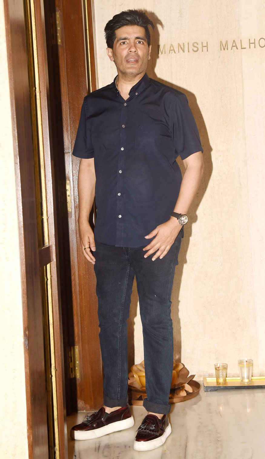 Celebrities Attend Manish Malhotras Party In His Residence at Mumbai