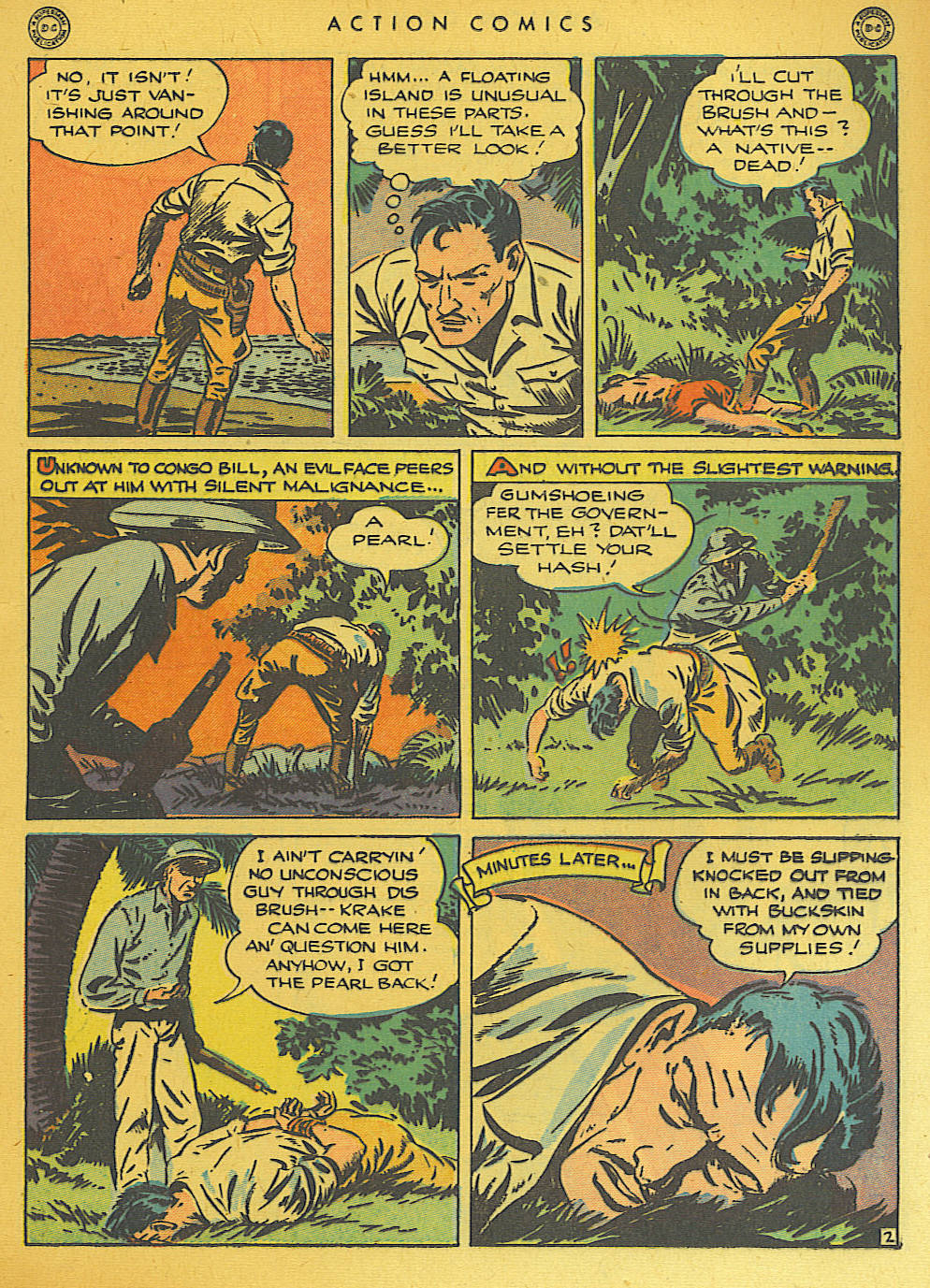 Read online Action Comics (1938) comic -  Issue #74 - 33