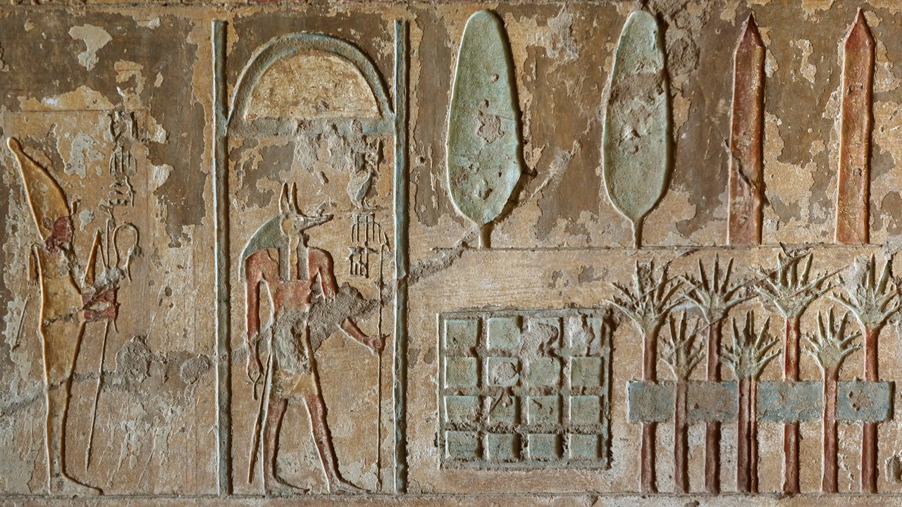 Imágenes: Descubren el primer jardín funerario del Antiguo Egipto