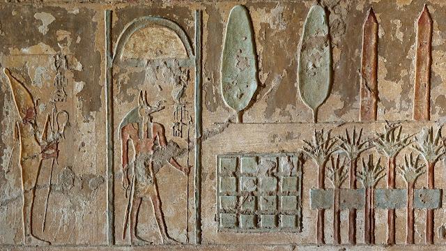 Descubren el primer jardín funerario del Antiguo Egipto