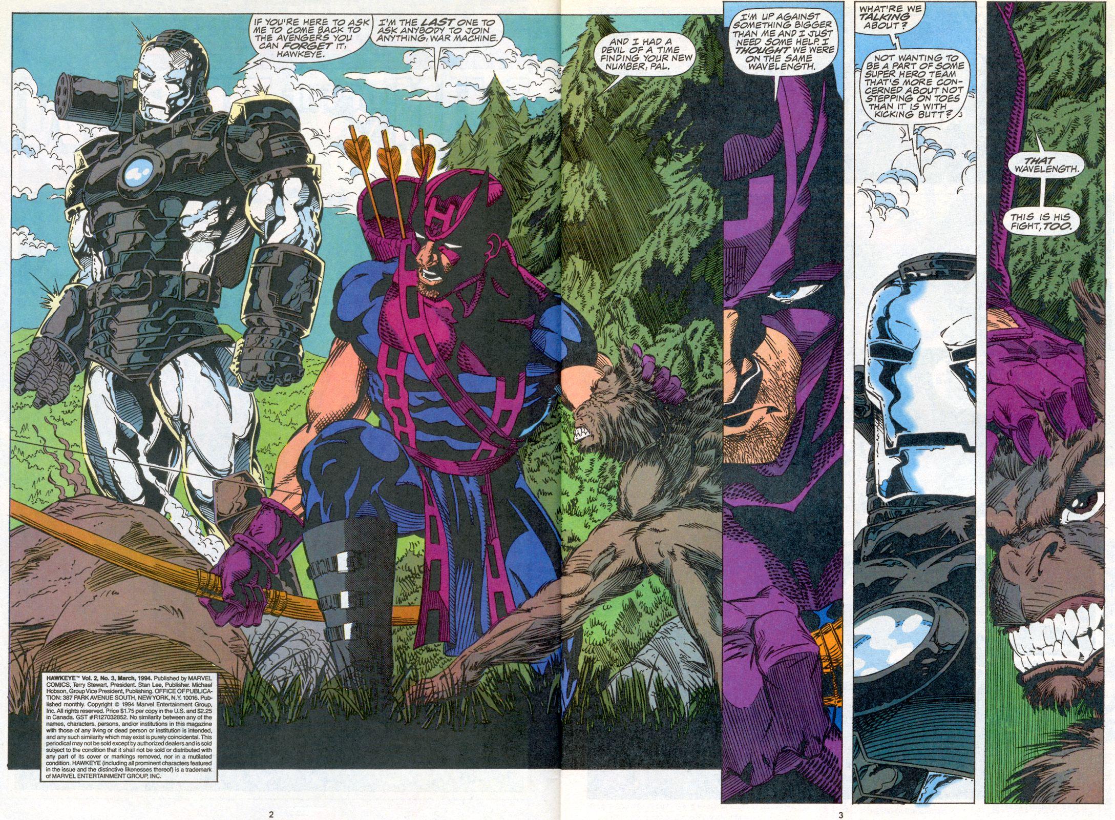 Hawkeye (1994) Issue #3 #3 - English 3