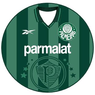 0cb182508e Palmeiras 1998 camisa verde