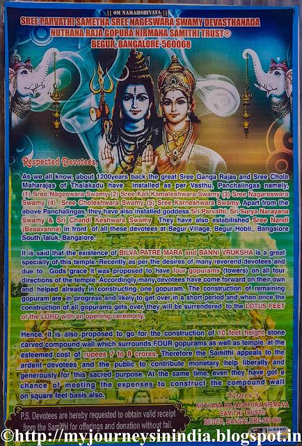 Pancha Linga Temple Begur