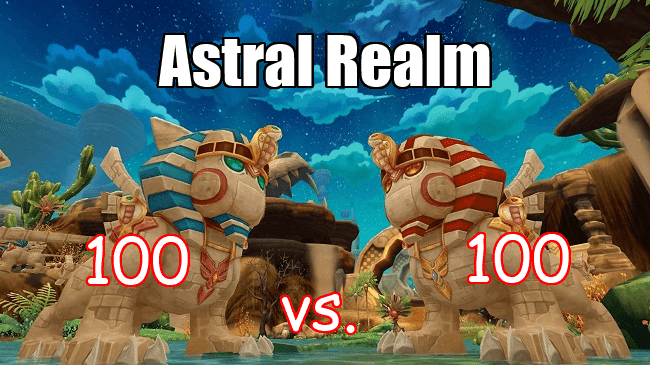 astral realm 100 vs 100 arena