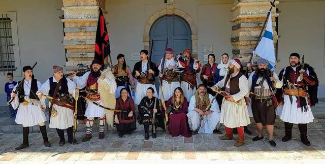Εντυπωσιακή παρουσία του αγήματος Καρατζά στις εορταστικές εκδηλώσεις στο Ναύπλιο