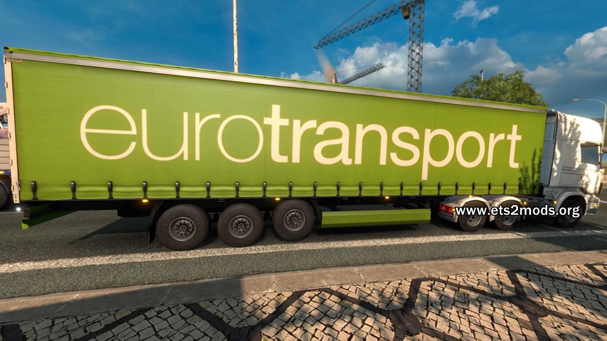 EuroTransport trailer mod by Default_Modder