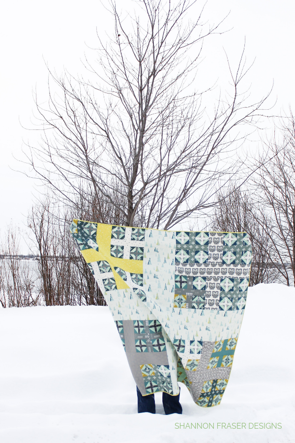 Heartland Plus Infinity Quilt in the winter wild