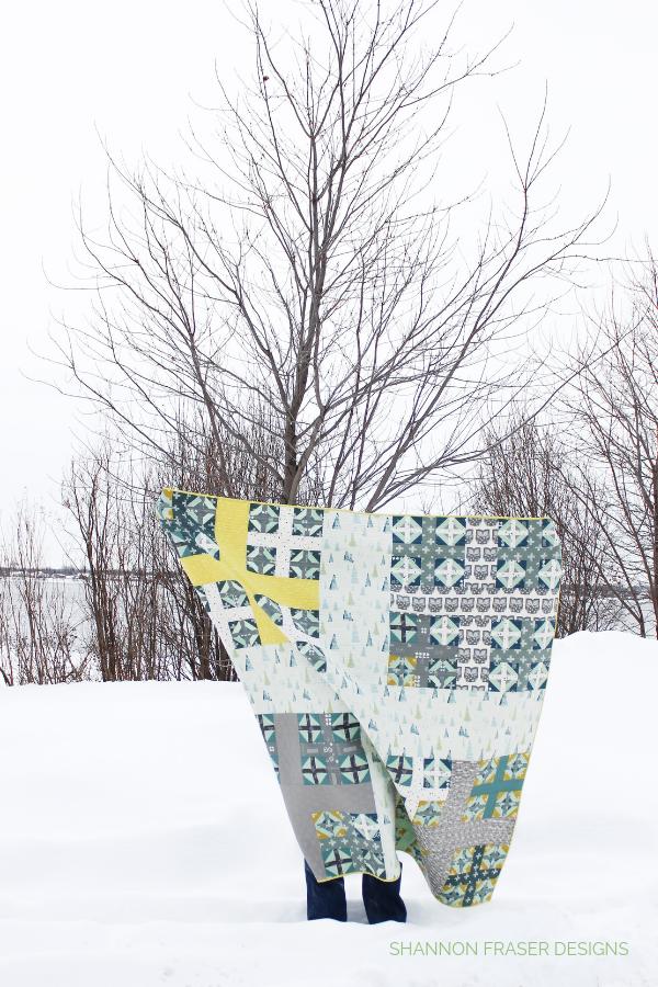 Heartland Plus Infinity Quilt in the winter wild