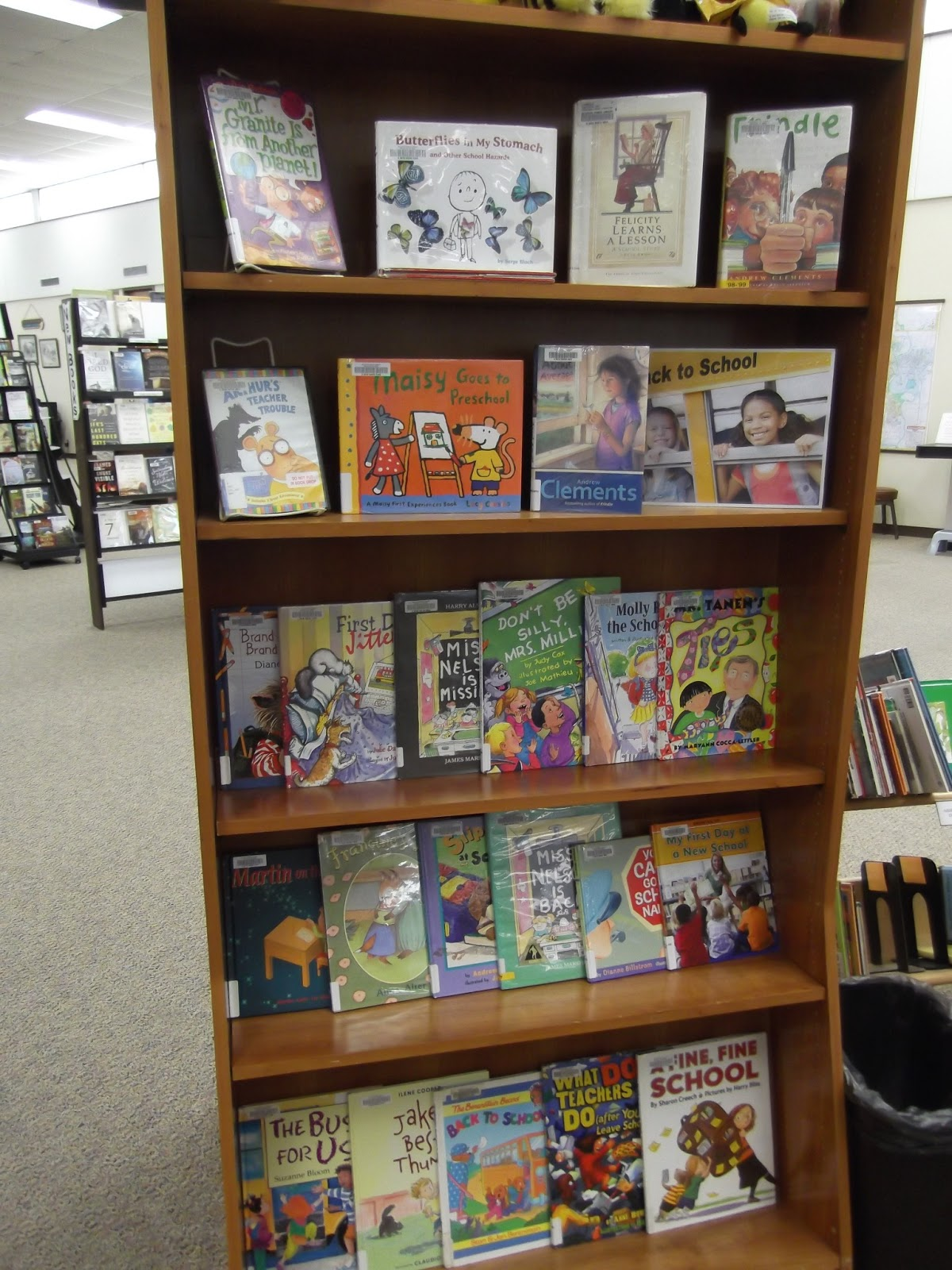 Storytimes And More I Spy Back To School