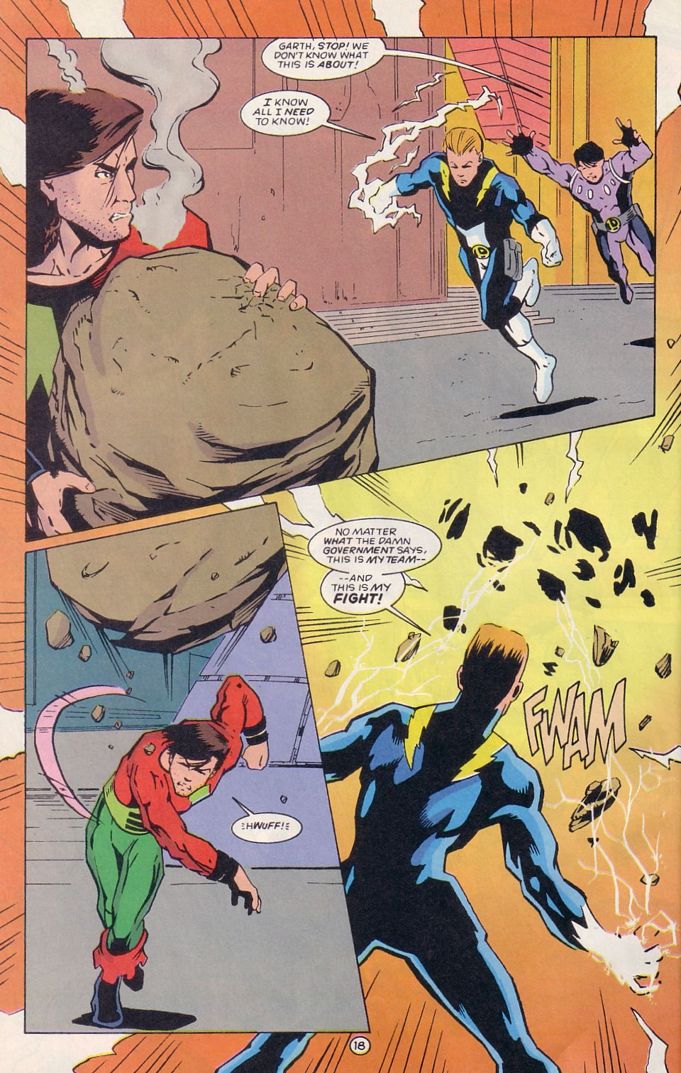 Legion of Super-Heroes (1989) 64 Page 18