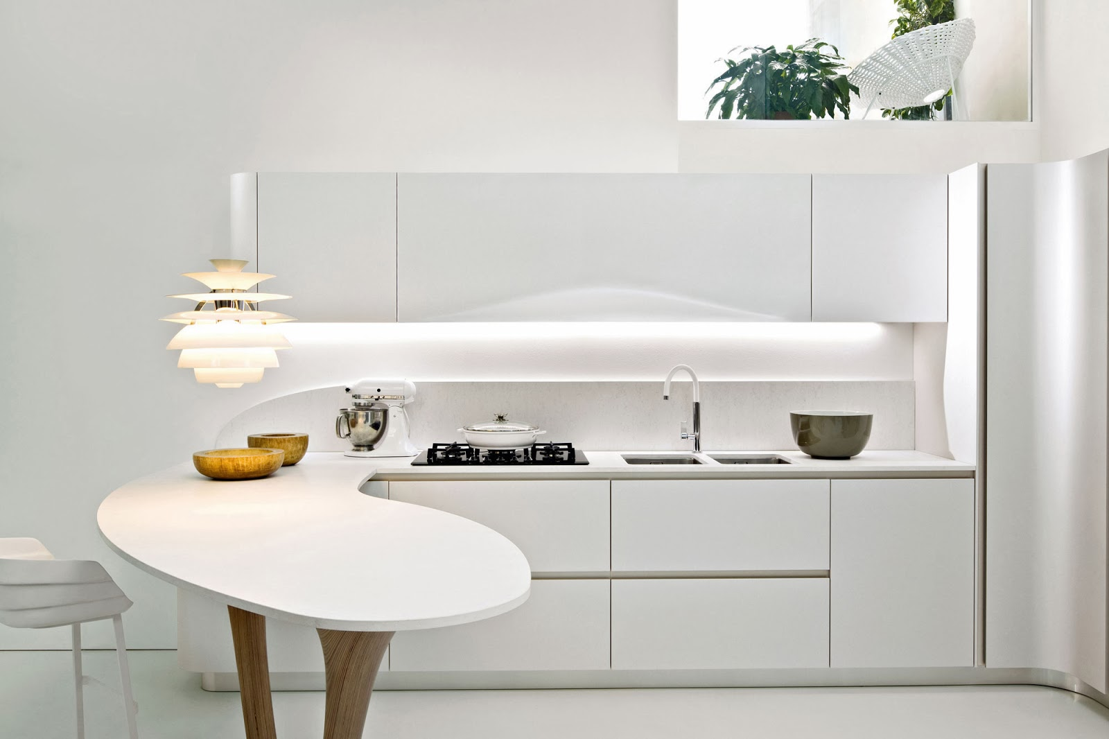 Cucine Moderne Le Migliori Soluzioni Per Arredare La Tua Cucina  #A97A22 1600 1066 Isole E Carrelli Di Cucina