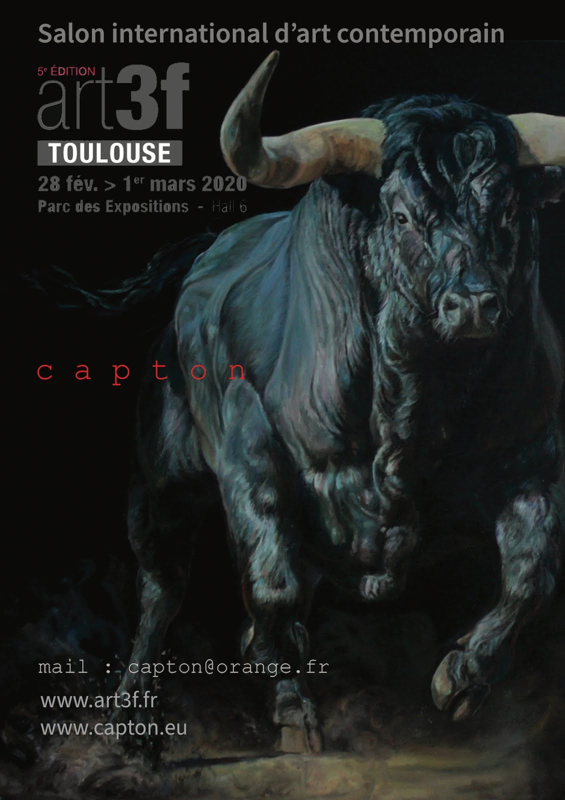 TOULOUSE : CAPTON EXPOSE AU SALON INTERNATIONAL ART3F