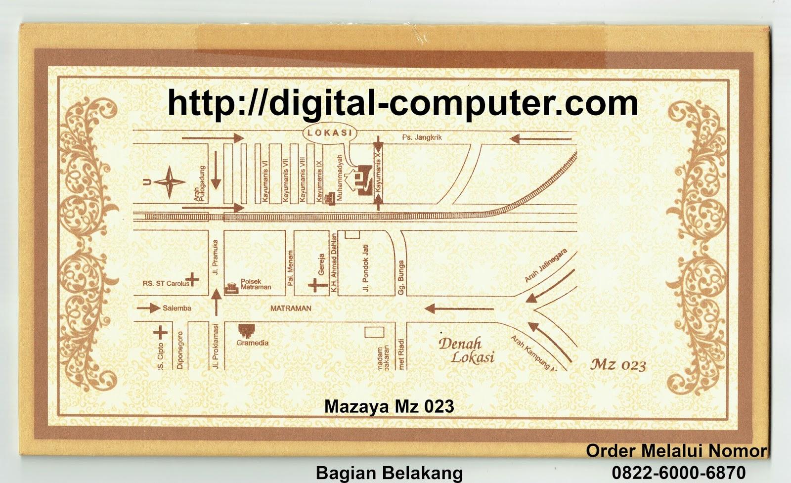 undangan hardcover Mz-023