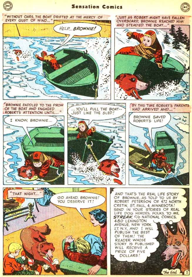 Read online Sensation (Mystery) Comics comic -  Issue #92 - 26