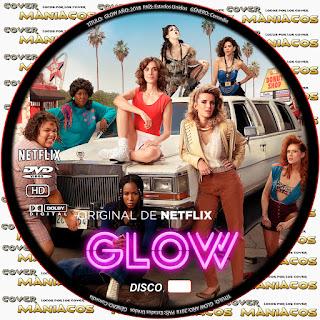 GALLETA GLOW NETFLIX [SERIE COVER DVD]