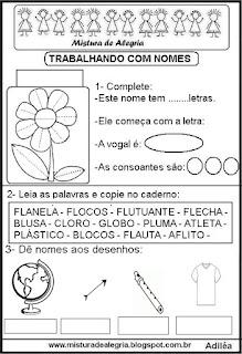 Trabalhando com o nome flor