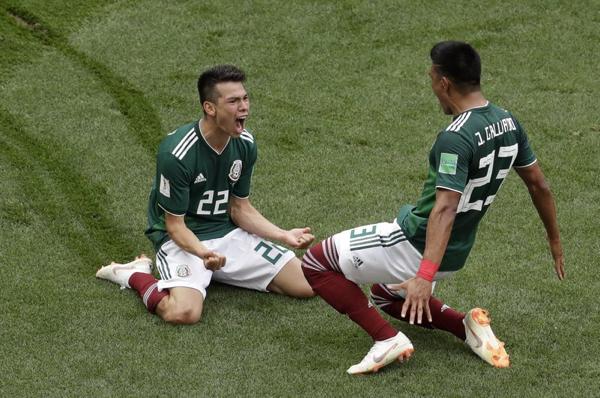 México sorprende al mundo: Vence a Alemania en Mundial de Rusia 2018