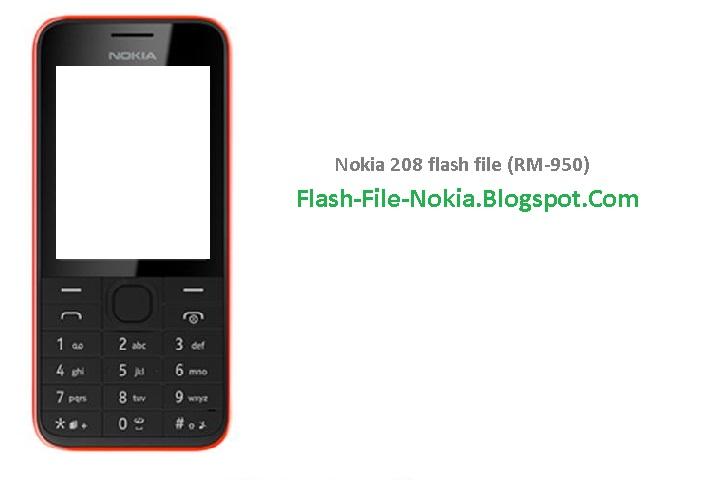 firmware nokia 208 rm 950 latino