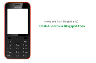 This Post I Will Share With You latest Version Of Flash File Nokia 208 RM-950. Before Flashing Your Mobile Phone At First Backup Your All user Data. Thanks