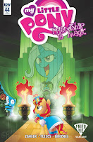 MLP IDW Friendship is Magic #44 Comic Fried Pie Cover by Agnes Garbowska