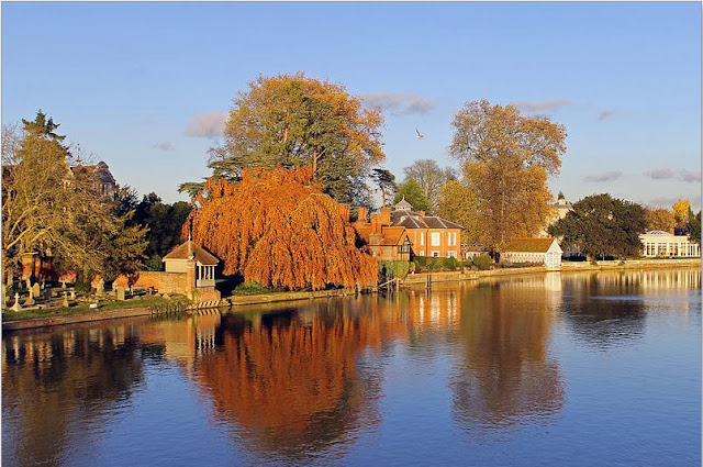 Buy wallart of River Thames at Marlow