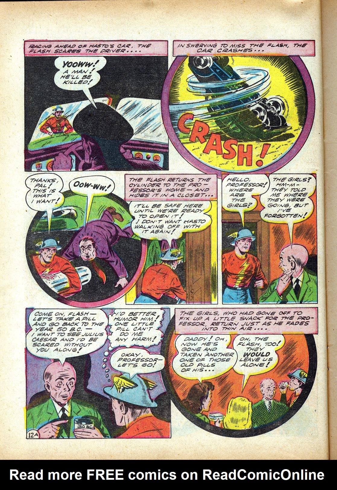 Read online All-Flash comic -  Issue #4 - 15
