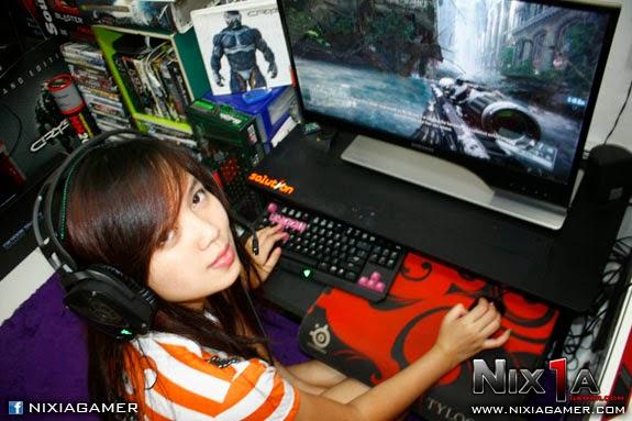 kumpulan foto cewek cantik gamer indonesia