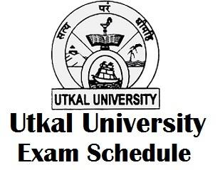 Utkal University 3 Final Year Exam Schedule 2017