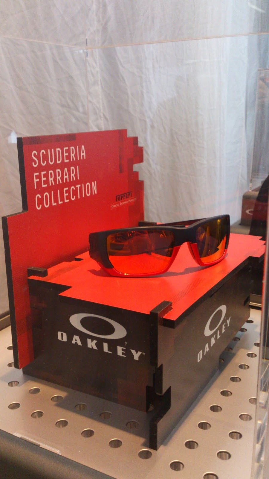 2df219646289e1 The special edition eyewear salutes the passion and perfection of Scuderia  Ferrari