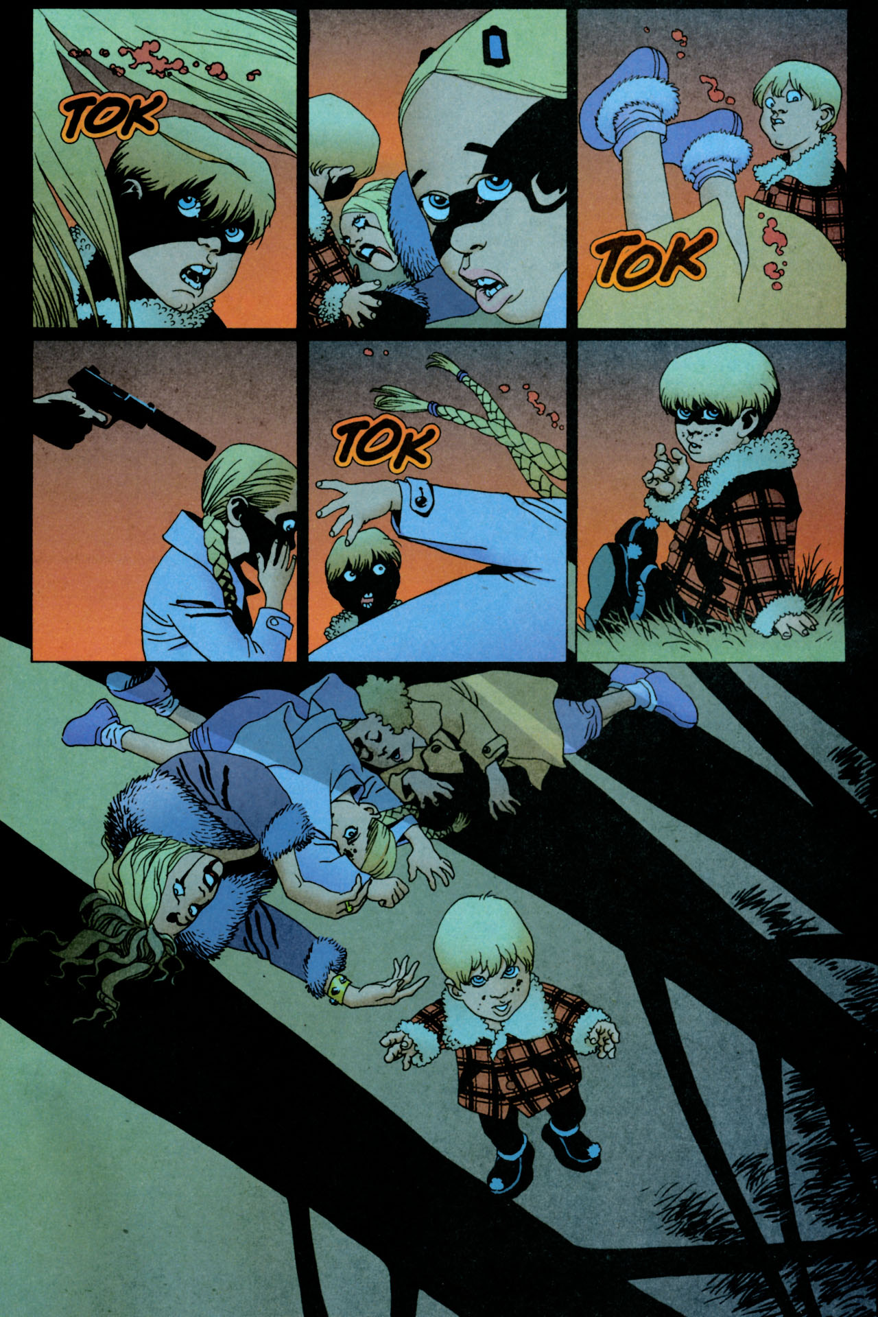 Read online 100 Bullets comic -  Issue #84 - 21