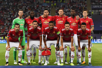 Daftar Skuad Pemain Manchester United 2017-2018