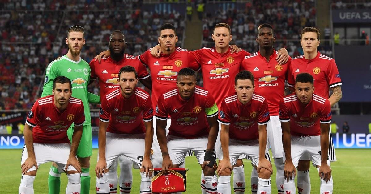 Daftar Skuad Pemain Manchester United 2017-2018 Terbaru