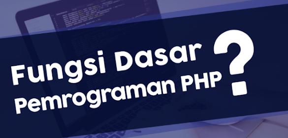 Belajar PHP Dasar