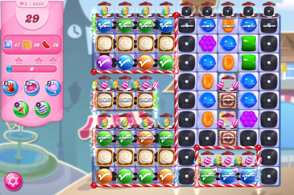 Candy Crush Saga level 6265