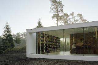 Casa de diseño de cristal