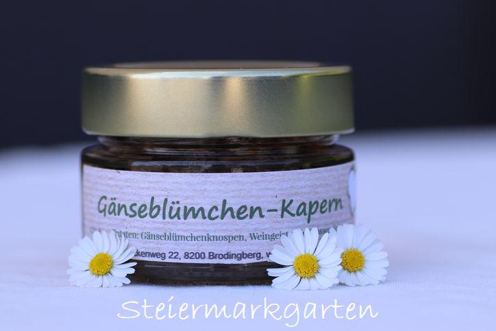 Gänseblümchen-Kapern-Steiermarkgarten