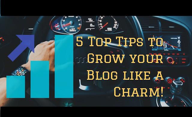 Grow your blog fast like charm.