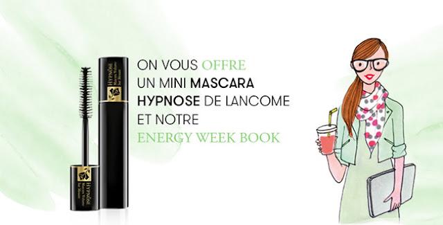 Un mini mascara Hypnôse de Lancôme Offert chez SEPHORA