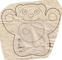 d pattern - Molde brinquedo para bebê
