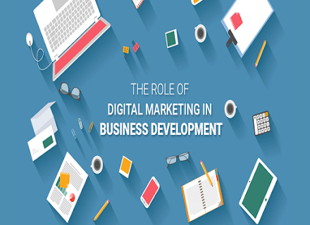 Infographic: The Role of Digital Marketing in Business Development