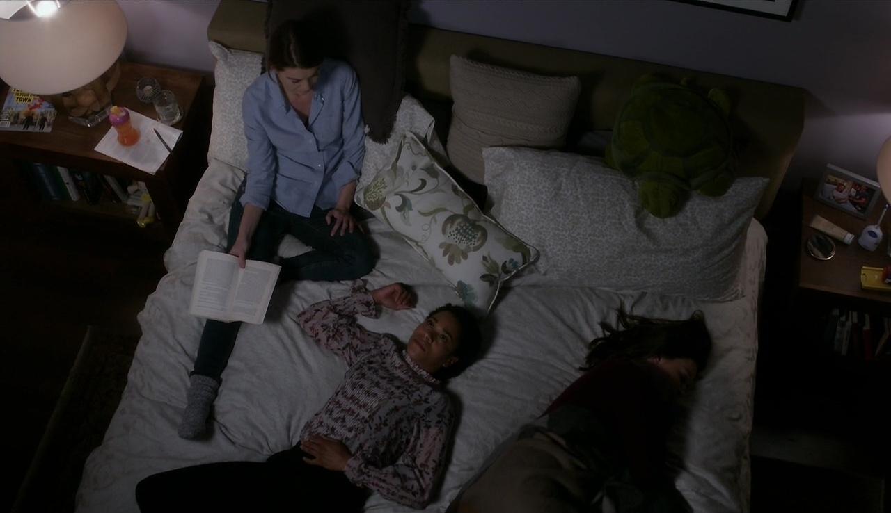 Grey's Anatomy 13x14 Meredith Maggie Amelia