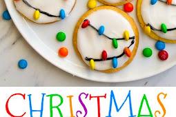 Christmas Lights Cookies Recipe