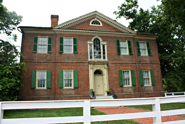 Liberty Hall in Frankforty, Kentucky was built in 1796 and home to John Brown.